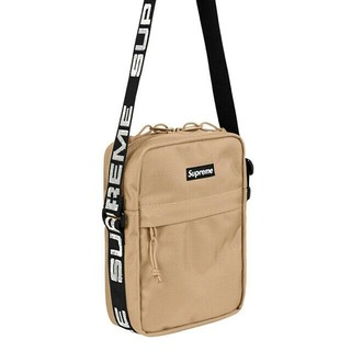 Supreme - Supreme 18SS Shoulder Bag Tan