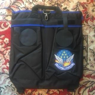【最終出品】ブルーインパルス ヘルメットバッグ【値下】(その他)