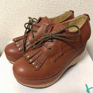 アシナガオジサン(あしながおじさん)の新品    オックスフォード  ローファー  靴(ローファー/革靴)