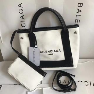 Balenciaga - Balenciaga トートバッグ ポーチ付き おしゃれ 可愛い 大容量 S