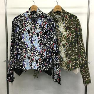 ヨウジヤマモト(Yohji Yamamoto)のsulvam19aw  レオパードシャツ(シャツ)