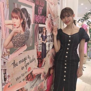 エーケービーフォーティーエイト(AKB48)の正規品✨herlipto .デニムワンピース、スナイデル、りりーブラウン(ロングワンピース/マキシワンピース)