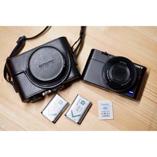 SONY - SONY RX100 初代 Wi-fi SDカードと予備バッテリー、ケース付き