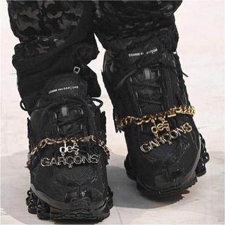 コムデギャルソン(COMME des GARCONS)のCOMME des GARCONS NIKE SHOX BLACK(スニーカー)
