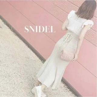 snidel - SNIDEL コットンリネン マーメイドスカート