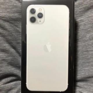 au - iPhone11 pro MAX 512G シルバー
