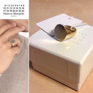 マルタンマルジェラ(Maison Martin Margiela)の新品■M■マルジェラ 18ss■2トーン オーバル リング■指輪■7014(リング(指輪))