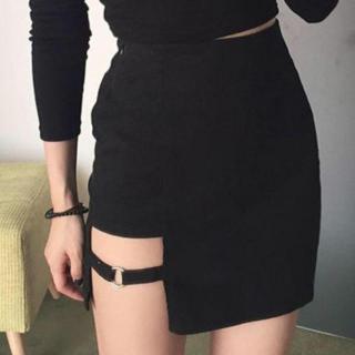大人気!!47 M セクシー スカート タイトスカート ミニスカート 裾不規則(ミニスカート)