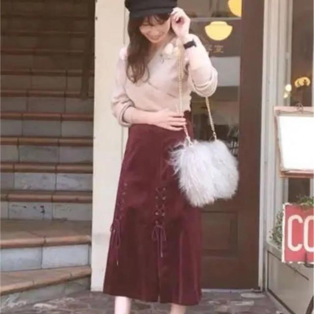 MERCURYDUO(マーキュリーデュオ)のMERCURYDUO ⑅⃛ スカート レディースのスカート(ロングスカート)の商品写真