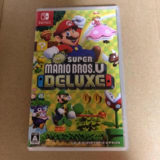 Nintendo Switch - New スーパーマリオブラザーズ U デラックス★任天堂スイッチ