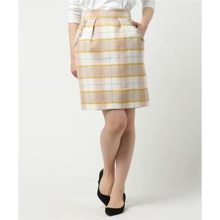 ミッシュマッシュ(MISCH MASCH)のポケットビジューチェック柄スカート(ミニスカート)