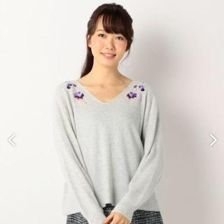 kumikyoku(組曲) - 組曲 エンブロイダリー  刺繍 ニット