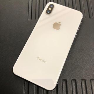 Apple - iPhone X 64GB シルバー Silver SIMロック解除 済み