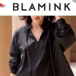Drawer - ブラミンク ボウタイパフスリワンピース BLAMINK36 drawer交渉可能