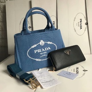 PRADA - PRADAカナパSお財布付き