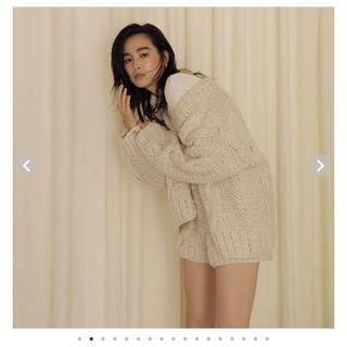 SeaRoomlynn - シールームリン  ニットジャケット  オフホワイト