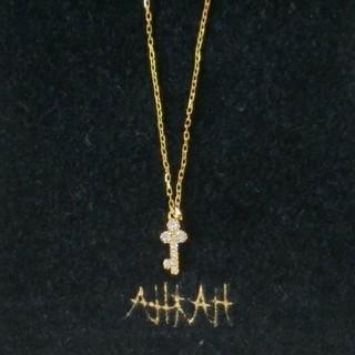 アーカー(AHKAH)の【セール】アーカー ダイヤモンド付キー/鍵モチーフのK18ネックレス(ネックレス)