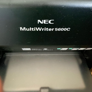 エヌイーシー(NEC)のNEC Multi Writer5600c プリンター ブラック(PC周辺機器)