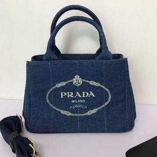 PRADA - プラダカナパSネイビー