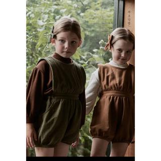キャラメルベビー&チャイルド(Caramel baby&child )のsoor ploom風 ロンパース (ワンピース)