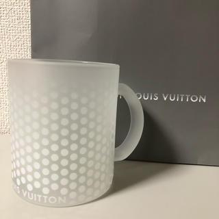 ルイヴィトン(LOUIS VUITTON)の新品・大人気!Fondation LOUIS VUITTONマグカップ(クリア)(グラス/カップ)
