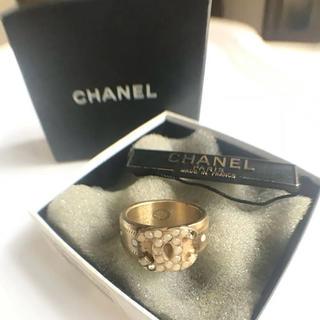 CHANEL - 正規品 シャネル ヴィンテージ リング chanel