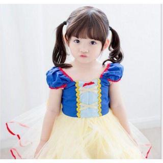 大人気♡☆白雪姫☆激カワ ☆子供に大人気!キッズドレス!ワンピース110cm(ワンピース)