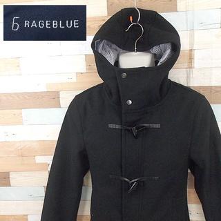 レイジブルー(RAGEBLUE)の【RAGEBLUE】 美品 レイジブルー ダッフルコート ブラック ウール M(ダッフルコート)