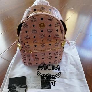 MCM - 即発送 mcmバックリュック ピンク