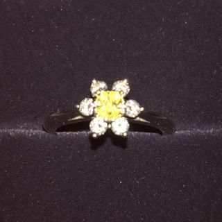 ティファニー(Tiffany & Co.)のティファニー  イエローダイヤ リング(リング(指輪))