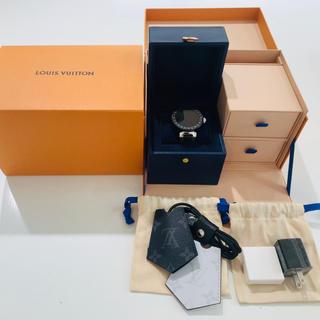 ルイヴィトン(LOUIS VUITTON)の【えるもさん専用】ルイヴィトン タンブール・ホライゾン V2(腕時計(デジタル))