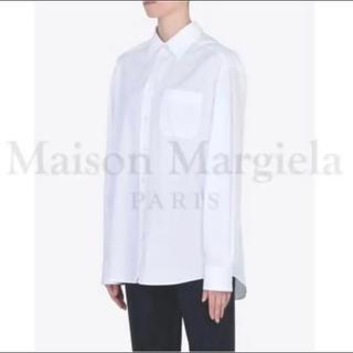 マルタンマルジェラ(Maison Martin Margiela)のMaison Margiela ピュアコットン ポプリンシャツ(シャツ/ブラウス(長袖/七分))
