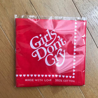 ジーディーシー(GDC)のGirls Don't Cry バンダナ(バンダナ/スカーフ)