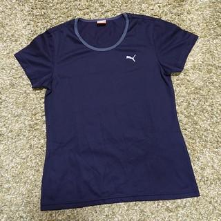 プーマ(PUMA)のPUMA レディース Tシャツ  Sサイズ 黒(ウェア)