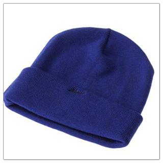 ムルーア(MURUA)のMURUA リブニット帽 帽子 ビーニー(ニット帽/ビーニー)