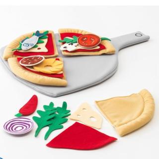 イケア(IKEA)のイケア IKEA ピザ 布のおままごと おもちゃ ままごと キッチン(知育玩具)