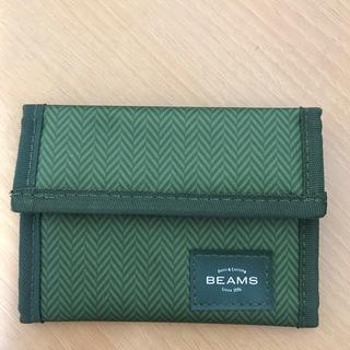 ビームス(BEAMS)の【新品未使用】BEAMS 三つ折り財布 雑誌 付録 メンズ レディース(折り財布)
