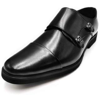 ビジネスシューズ メンズ 紳士靴 革靴 メンズ モンクストラップ 大きいサイズ(ドレス/ビジネス)