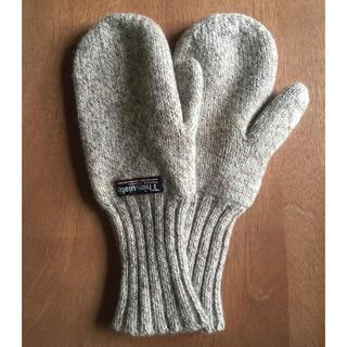ビームス(BEAMS)のシンサレート シェトランドウールミトン(手袋)