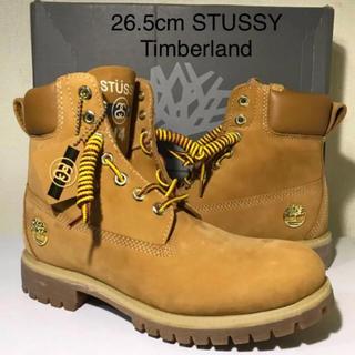 ティンバーランド(Timberland)の【超激レア‼️新品】26.5cm STUSSY x Timberland(ブーツ)