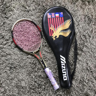 ミズノ(MIZUNO)のミズノテニスラケット&カバー【送料込み】(ラケット)
