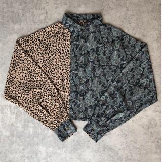 ALEXIA STAM - crazy leopard shirt