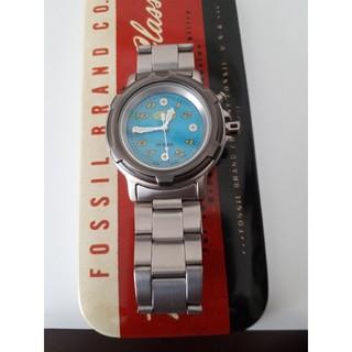 フォッシル(FOSSIL)の腕時計 FOSSIL(中古品)ケース付最終値下げ(腕時計(アナログ))