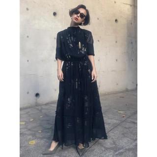 Ameri VINTAGE - AMERI BELINDA SHIRRING LONG DRESS