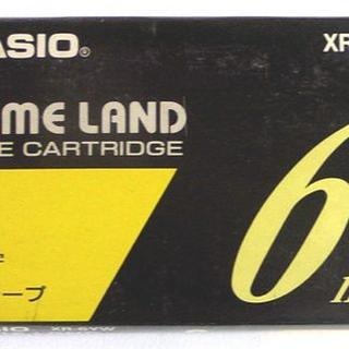 CASIO - CASIO★ネームランド★テープ★新品1巻★1,155円の品★黄/黒