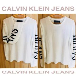 カルバンクライン(Calvin Klein)の【限定★希少】「Ladies」カルバンクライン ニット セーター(ニット/セーター)