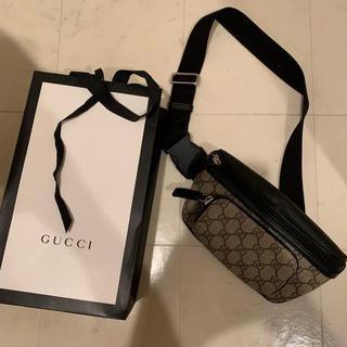 Gucci - GUCCI オンライン限定 GGスプリーム ベルトバッグ