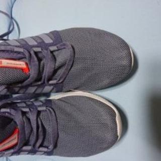 アディダス(adidas)のアディダス・climacool 24.5cm・箱なし 靴底汚れあり。(スニーカー)