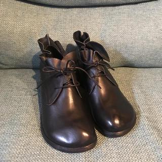 Hina 牛革レースアップシューズ(ローファー/革靴)