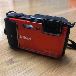 ニコン(Nikon)のNikon AW 130 オレンジ(コンパクトデジタルカメラ)